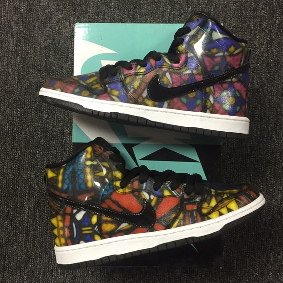 "new arrival e307c 65cbd Nike SB Dunk High ""Stained Glass"""